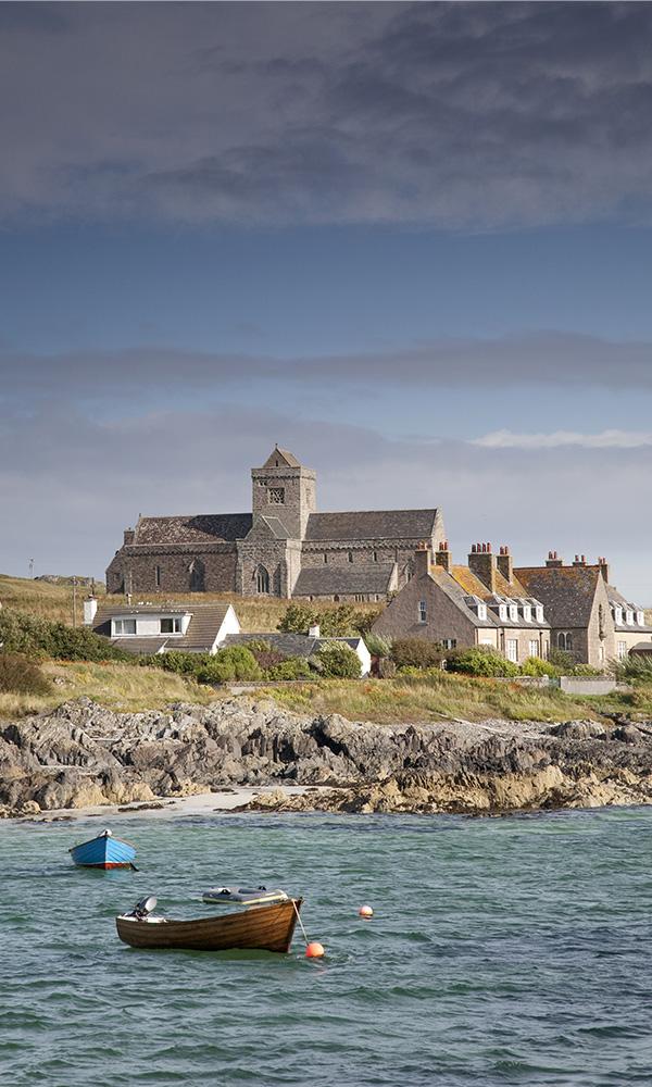 Iona Abbey on the Isle of Iona