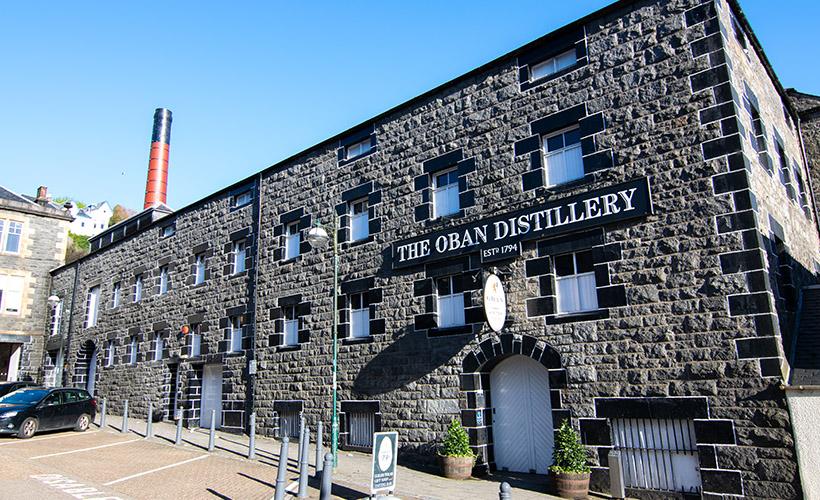 Oban Distillery in Oban